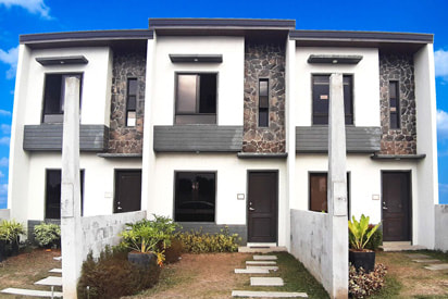 affordable complete townhouse in dasma cypress pine, woodtown residences