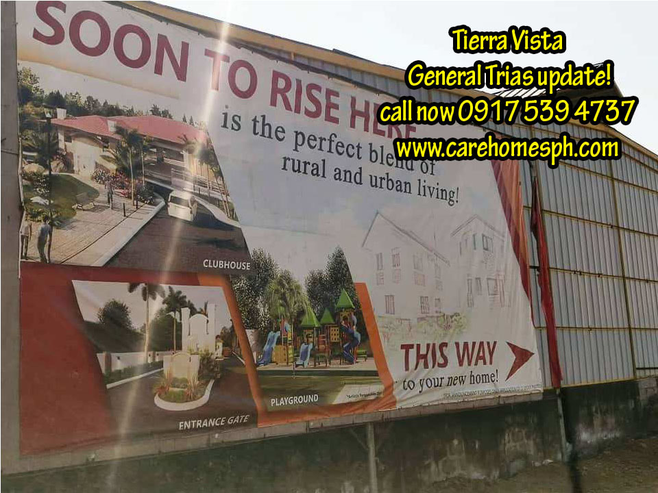 Latest site update of Tierra Vista General Trias as of february 2020